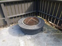 Granite Fire Pit in Sugar Grove, Illinois