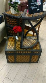 Decorative Wicker Set in Tinker AFB, Oklahoma