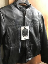 Brand New Women's Leather Motorcycle Jacket in Fort Polk, Louisiana