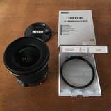 Nikon 20mm f/1.8G AF-S with wide angle UV filter in Ramstein, Germany
