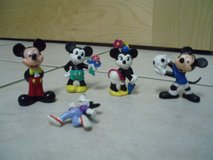 Mickey and Minnie Mouse rubber  figures in Stuttgart, GE