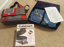 Cooler bag, casserole carrier w/ temp pack, & waffle maker in Hinesville, Georgia