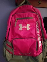 Under armour pink backpack in Aurora, Illinois