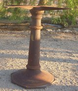 1920's Cast Iron Table Stand - Rustic in Yucca Valley, California