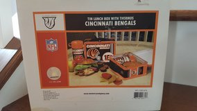 NFL Bengals lunch box and thermos in Morris, Illinois