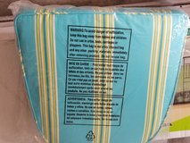 3- Patio chair cushions ~ NEW in Sugar Grove, Illinois