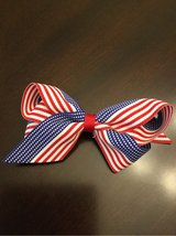 Hair bow- patriotic in Glendale Heights, Illinois