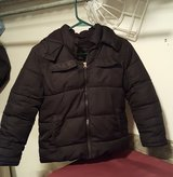 Boys Winter Coat (size 6-7-black) in Naperville, Illinois