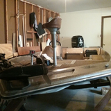 Supra Bass Boat and 150hp Mercury motor in New Lenox, Illinois