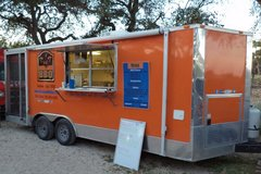 BBQ Food Concession Trailer 8.5' x 20' in Lackland AFB, Texas