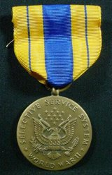 Spectacular WW2 Selective Service Medal in Spangdahlem, Germany