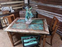 shabby chic dining room table in Cleveland, Texas