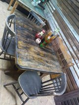 shabby chic table w/ bench in Cleveland, Texas