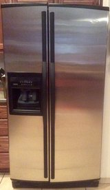 Whirlpool Gold Stainless refrigerator in Alamogordo, New Mexico