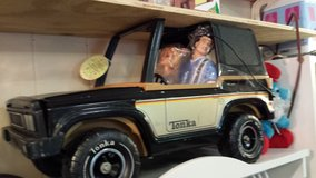 Vintage Tonka Jeep with older dolls in Warner Robins, Georgia