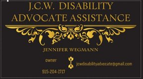 Need assistance in getting SSI/Disability in Fort Bliss, Texas