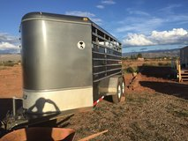 4-Horse Bumper Pull. Like new Beautiful silver gray color in Alamogordo, New Mexico