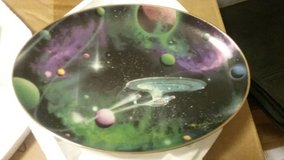 STAR TREK, SPACE THE FINAL FRONTIER, COLLECTION PLATES, MINT in Camp Lejeune, North Carolina