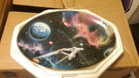 STAR TREK, SPACE THE FINAL FRONTIER COLLECTION PLATES, MINT, PART 2 in Camp Lejeune, North Carolina