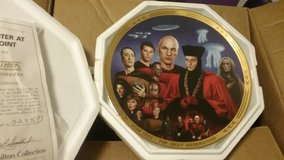 STAR TREK, NG, THE EPISODES, COLLECTION PLATE, MINT in Camp Lejeune, North Carolina