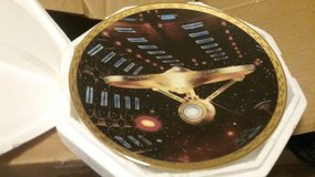 STAR TREK, THE VOYAGERS, COLLECTION PLATE, MINT in Camp Lejeune, North Carolina