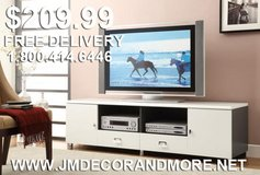 NEW CONTEMPORARY TV STAND FREE DELIVERY in Huntington Beach, California