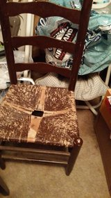 Vintage ladder back chair in Alamogordo, New Mexico