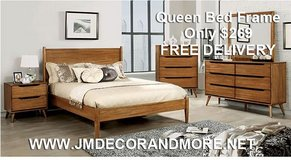 Lennart Queen Bed Frame Free Delivery in Huntington Beach, California