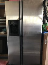 stainless steel GE refrigerator in Naperville, Illinois