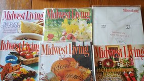 Midwest Living Magazine Lot of 6 issues (full year of issues) 2008 in Joliet, Illinois