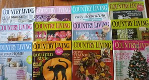 Country Living Magazine Lot of 12 issues (full year of issues) 2008 in Joliet, Illinois