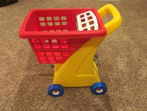 Little Tikes® Shopping Cart - Yellow/Red in Glendale Heights, Illinois