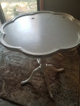 small white accent table in DeKalb, Illinois