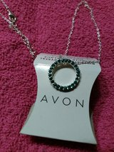 Avon birthstone Crystal circle necklace in Cherry Point, North Carolina