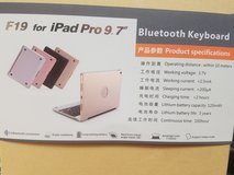 "iPad Bluetooth keyboard/case (for iPad Pro 9.7"") in Westmont, Illinois"