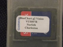Garmin BlueChart g2 Vision VUS007R Norfolk-Charleston SD Card in Wilmington, North Carolina