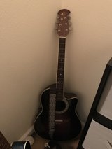 ovation (limited addition) acoustic electric guitar in DeRidder, Louisiana