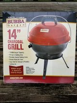 "Bubba 14"" Charcoal Grill NIB in Fort Leavenworth, Kansas"