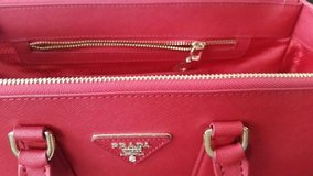 Red Prada Bag in Los Angeles, California