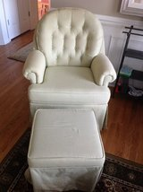 Custom Rocking Chair and Ottoman in Westmont, Illinois