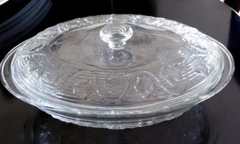 Oval Glass Dish With Lid, Oven proof in Aurora, Illinois