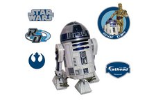 FATHEAD HUGE STAR WARS R2-D2 WALL DECAL POSTER in Aurora, Illinois
