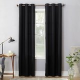 Black curtains 84 in (2 panels) in Houston, Texas
