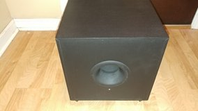 KLH E310 100W Powered Downfiring Subwoofer in Perry, Georgia