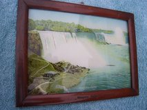 Framed Souvenir Picture of Niagara falls (circa. 1920) in Mannheim, GE