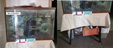 Fish tank With Stand for sale in Warner Robins, Georgia