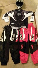 Dirt bike gear in Fairfield, California