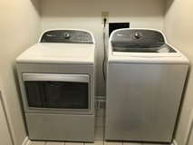 Whirlpool cabrio washer and dryer set in Mayport Naval Station, Florida