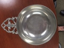 Pewter dish in Naperville, Illinois