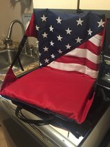 New Stadium Seat - Patriotic - Red, White & Blue in Naperville, Illinois